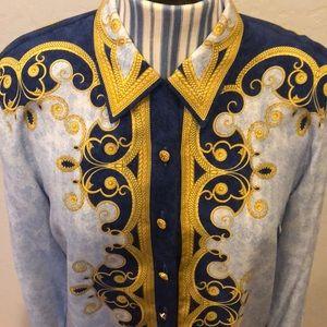 Escada Tops - 100% silk ESCADA blouse in mint condition